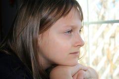 Uma menina de projecto. Imagem de Stock