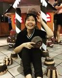 Uma menina doce foto de stock royalty free