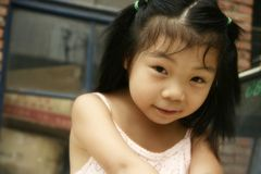Uma menina doce Fotografia de Stock Royalty Free