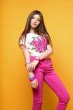 Uma menina idosa bonita de 13 anos Fotos de Stock Royalty Free