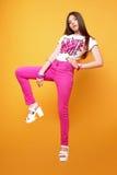 Uma menina idosa bonita de 13 anos Imagens de Stock Royalty Free