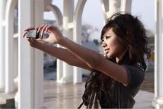 Uma menina oriental Imagens de Stock Royalty Free