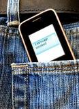 Uma mensagem Foto de Stock