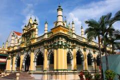 Uma mesquita bonita em Singapore fotografia de stock royalty free