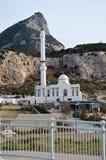 Uma mesquita em Gibralter Foto de Stock Royalty Free