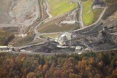 Uma mina de carvão, Appalachia, América Fotografia de Stock