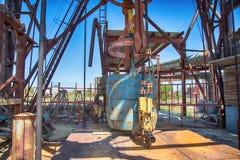 Uma mina subterrânea velha, abandonada imagens de stock royalty free