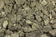 Uma mistura da terra e da areia Foto de Stock Royalty Free