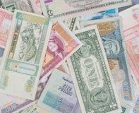 Uma mistura das contas de papel Foto de Stock Royalty Free
