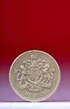 Uma moeda de libra Imagem de Stock Royalty Free