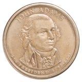 Uma moeda do dólar americano Fotografia de Stock
