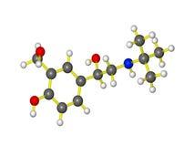 Uma molécula de Proair Imagens de Stock