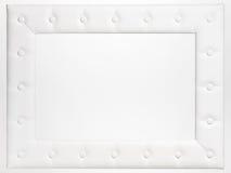 Uma moldura para retrato vazia no fundo branco Imagem de Stock Royalty Free