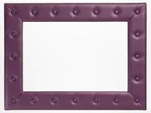 Uma moldura para retrato vazia no fundo branco Fotografia de Stock Royalty Free