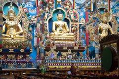Uma monge solitária em um monastério Fotografia de Stock