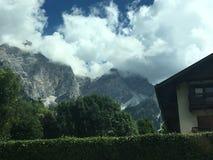 Uma montanha bonita Fotografia de Stock Royalty Free