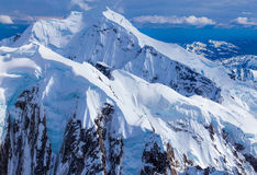 Uma montanha maciça Foto de Stock Royalty Free