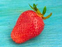Uma morango madura Imagem de Stock Royalty Free