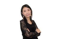 Mulher asiática segura Fotos de Stock Royalty Free