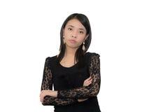 Mulher asiática segura Imagem de Stock