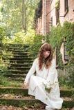 Uma mulher chinesa elegante Foto de Stock Royalty Free