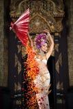 Uma mulher elegante ChiangMai Tailândia norte de Lanna Imagem de Stock