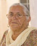 Uma mulher idosa Fotografia de Stock Royalty Free