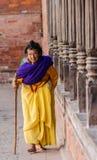 Uma mulher idosa. Imagem de Stock Royalty Free