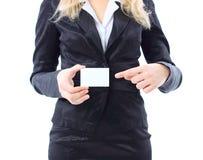 Uma mulher nova atrativa fotografia de stock