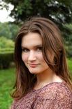 Uma mulher nova bonita Imagens de Stock Royalty Free