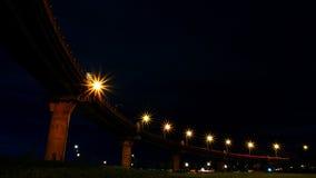 Uma noite escura Fotografia de Stock