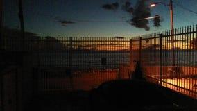 Uma noite tropical calma da ilha e uma praia bonita Imagem de Stock Royalty Free