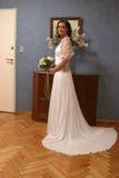 Uma noiva (corpo cheio) Imagens de Stock