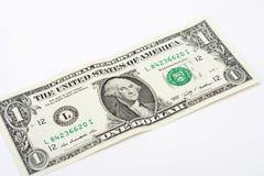 Uma nota de dólar Imagens de Stock