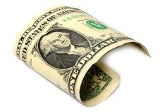 Uma nota dos EUA do dólar Foto de Stock Royalty Free