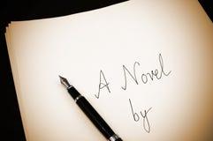 Uma novela Imagem de Stock Royalty Free