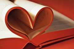 Uma novela romance imagens de stock