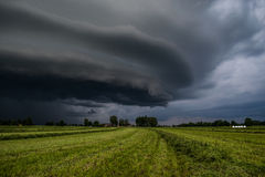 Uma nuvem de tempestade Foto de Stock