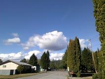 Uma nuvem real Foto de Stock Royalty Free
