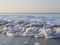 Uma onda acaba Foto de Stock