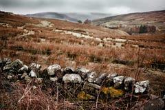 Foto da paisagem da vista em Garsdale Fotos de Stock