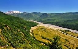 Uma opinião bonita Saint Helens do Mt Foto de Stock