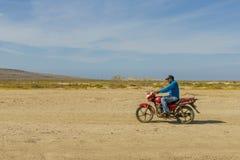 Uma opinião Cabo de la Vela em Colômbia fotografia de stock