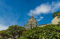 Uma opinião Rafael Uribe Uribe Palace da cultura fotografia de stock