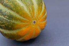 Uma opinião verde do close-up do melão foto de stock