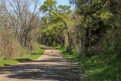 Uma outra estrada secundária na cor Fotografia de Stock Royalty Free