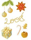 Uma outra grampo-arte do Natal Imagem de Stock Royalty Free