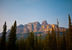 Uma outra vista calma em Alberta, Canadá Imagem de Stock