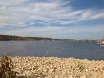 Uma paisagem agradável de Hudson Foto de Stock Royalty Free