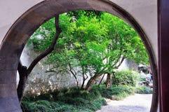 Uma paisagem atrasada do jardim Foto de Stock Royalty Free